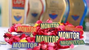 Monitor Badge Ceremony